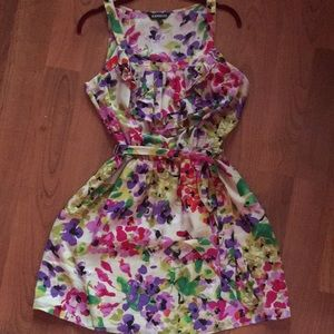 Adorable Colorful Floral Dress 🌺